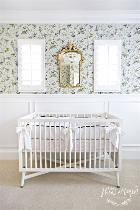 Nursery With Wainscoting by Nursery Wainscoting Transitional Nursery Studio Mcgee