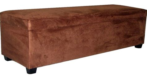 60 upholstered bench shop houzz csi montage 60 quot wide upholstered storage bench upholstered faux suede
