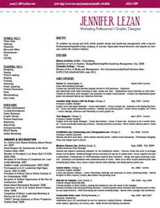 graphic fashion marketing resume by lezan at