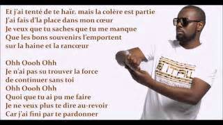 maitre gims tu vas me manquer paroles lyrics