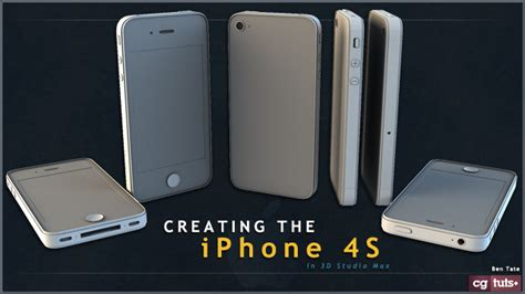 creating the iphone 4s in 3d studio max part 3
