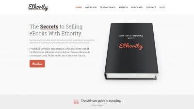 10 Best Modern Vcard Cv Resume Wordpress Themes Book Launch Website Template
