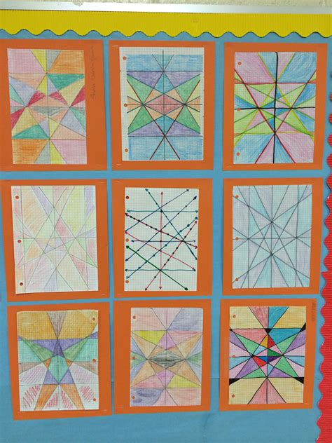 Stained Glass Window Worksheet by Linear Equations Stained Glass Window Math Is