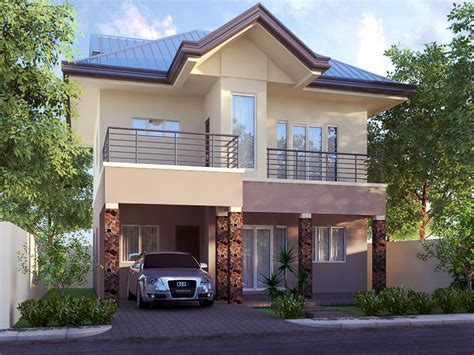 2 storey home with simple minimalist design 4 home ideas