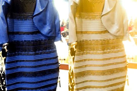 the dress is blue and black says the girl who saw it in the experts verdict on the white gold and blue black