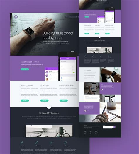Tork Free Psd Website Template Blazrobar Com Photoshop Website Templates
