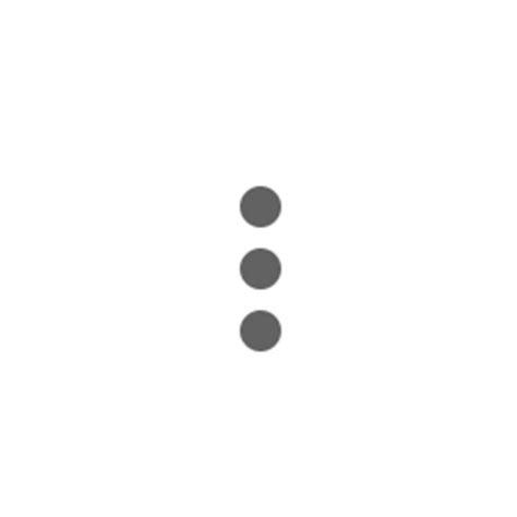 dot pattern in css css3 how to make 3 vertical dots using css stack overflow