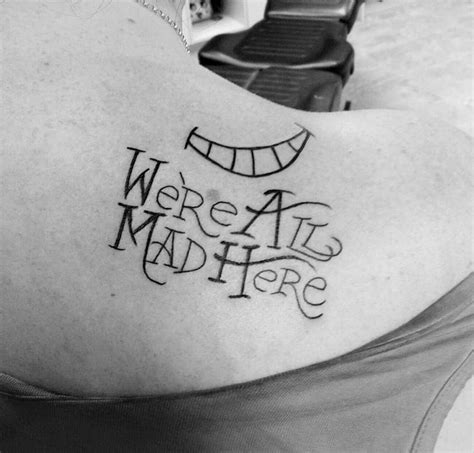 we re all mad here tattoos 1000 images about quot we re all mad here quot on