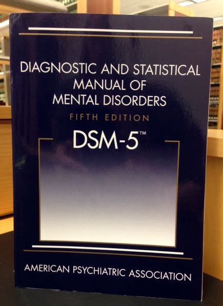 Dsm Also Search For Library Highlights The Dsm V Has Arrived