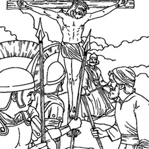 coloring pages jesus crucified friday coloring pages pray for jesus sacrifice