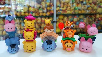 Original Boneka Disney Tsum Tsum Vinyl Pooh Goofy Perry foreverfriendpooh disney tsum tsum winnie the pooh friends mystery pack collection from
