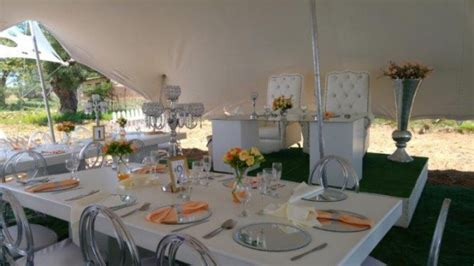 Wimbledon Chairs, Stretch Tents, White Event Couches