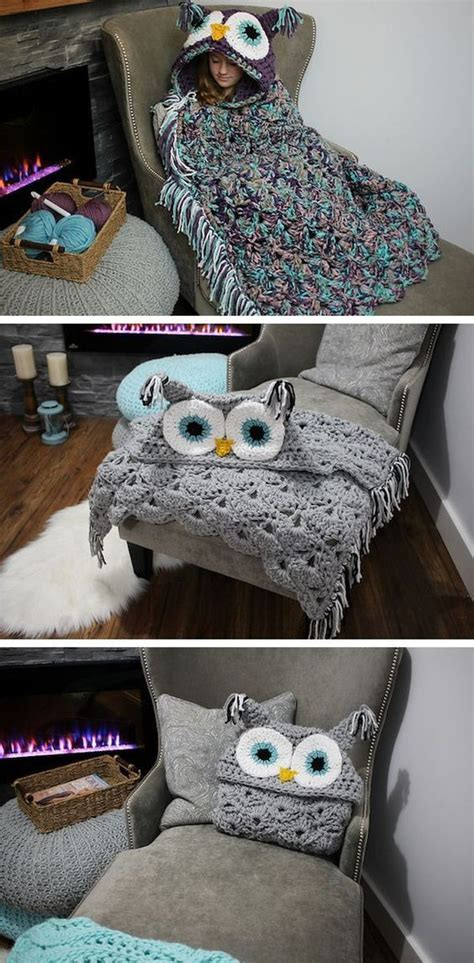 owl blanket knitting pattern 25 best ideas about knitted owl on knitting