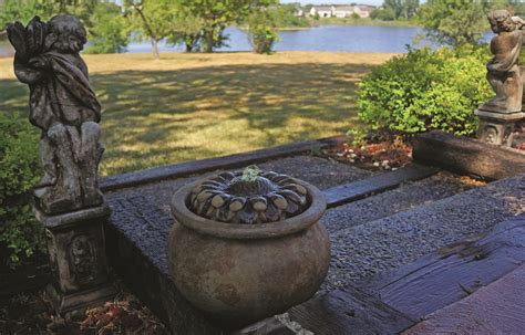 patio fountains sunflower patio bubbler maison decor