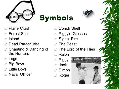 list of symbols in lord of the flies lord of the flies fire symbolism