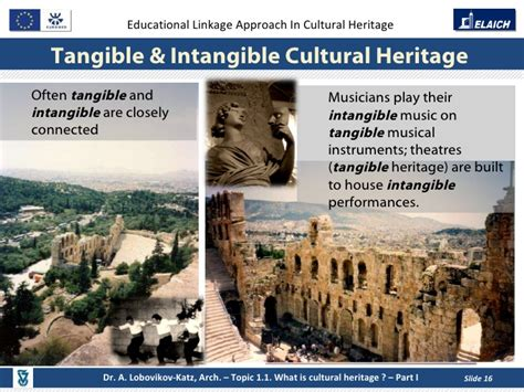 what is intangible cultural heritage intangible elaich module 1 topic 1 1 what is cultural heritage part i