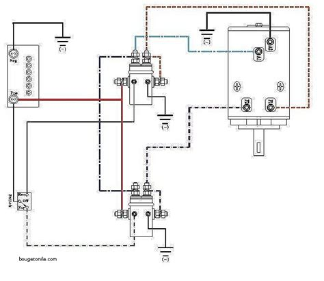 ramsey winch wiring diagram free schematic