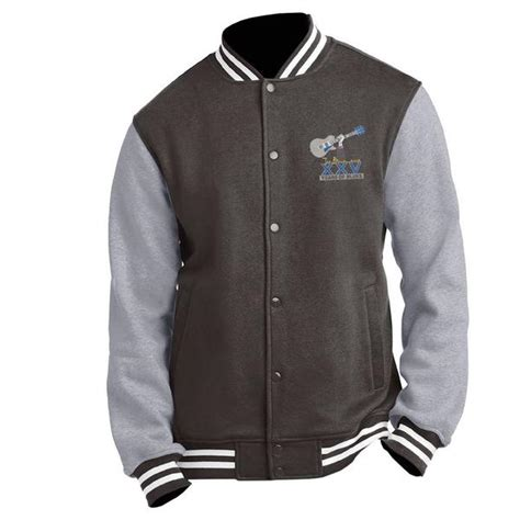 Lettermans 25th Anniversary 25th anniversary logo letterman jacket w name embroidered