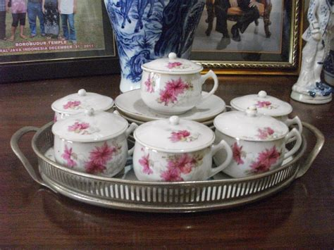 Seruni Set 2 admiral antique tea set seruni kecil