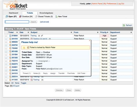 help desk ticket tracking software the 8 best free and open source help desk software tools capterra