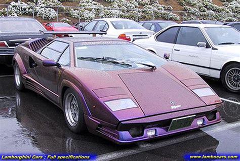 Custom Lamborghini Countach Lamborghini Countach 25th High Resolution Images