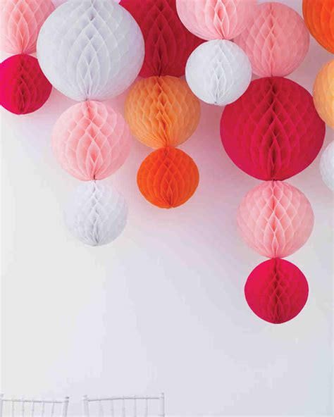Papier Decoration by Easy To Make Paper Decorations For Your Wedding Martha