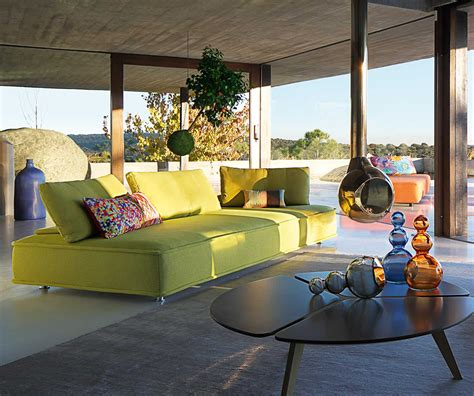 escapade sofa sleek and modern indoor outdoor escapade sofa by roche