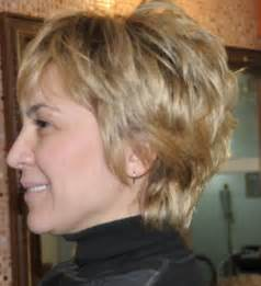 chopped haircuts for the middle aged short hair styles for older women hair styles hair