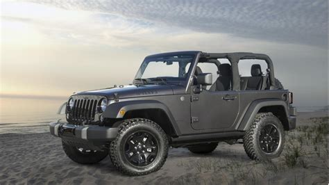 Jeep Wrangler Editions 2014 Jeep Wrangler Willys Wheeler Edition Goes Back To The