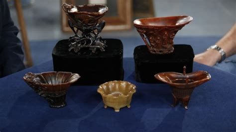 antiques roadshows most valuable find ever rhino cups may set 10 most expensive items on antiques roadshow viraltide
