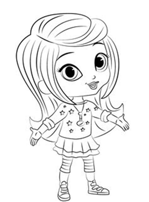 shimmer and shine coloring pages of 2017 craft