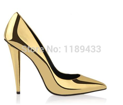 sale cone heeled pointy pumps fashion bright shiny