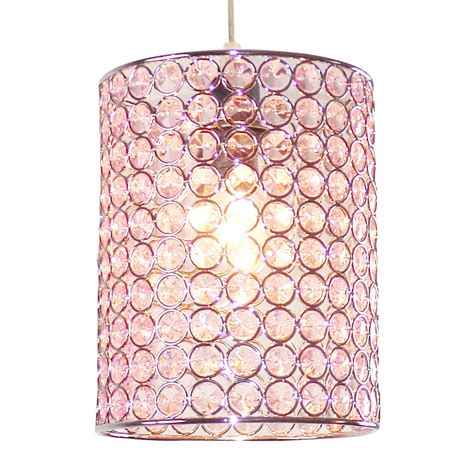 light pink l shade colours mokena pink crystal effect beaded light shade d