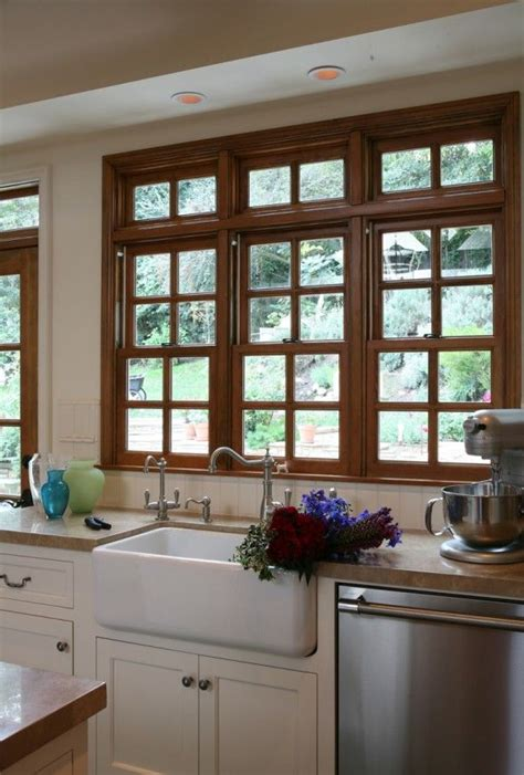 wood trim for kitchen cabinets wood window with white cabinets i would only like the