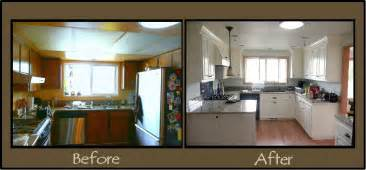 Cheap Kitchen Remodel Ideas Before And After by Before And After Pictures Of Remodeled Homes Images