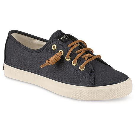 sperry s seacoast canvas sneakers 675975 casual
