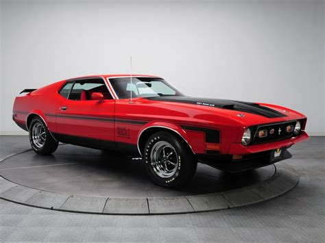ford mustang mach 1 351 ram air 1971 classics rods cars ford