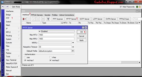 membuat vpn ip membuat vpn server di mikrotik router clound carbelius