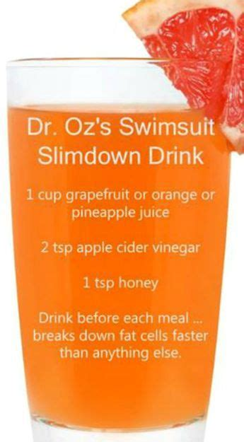 Flat Tummy Detox Water Dr Oz by 17 Best Ideas About Slim Drink On 5 Day