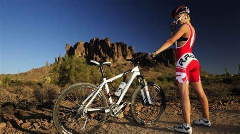 wallpaper girl with bike hd wallpaper mtb mountainbike girl and bike bikes