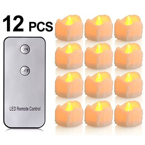 flameless tea lights with remote led flameless with remote control pchero battery
