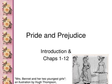 themes of pride and prejudice ppt ppt pride and prejudice powerpoint presentation id 356814