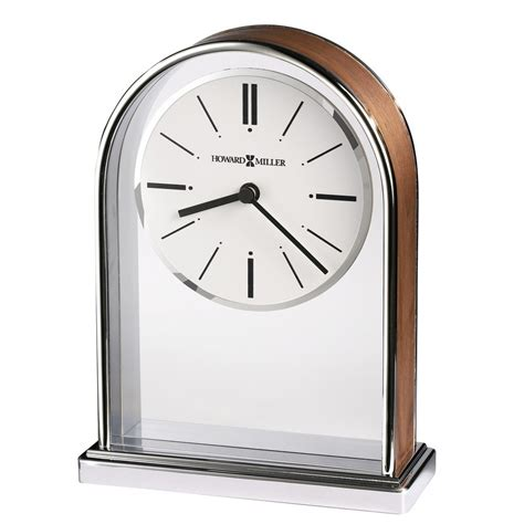howard miller table clock howard miller milan table clock 645768