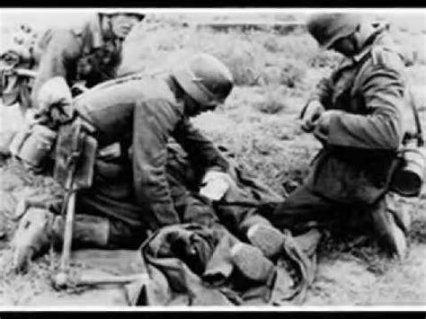 world war ii german medic and doctor on battlefield