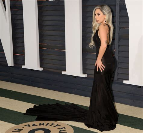 Vanity Gaga by Gaga At Vanity Fair Oscar Celebzz Celebzz