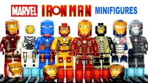 Lego 30168 Ironman Minifigure iron patriot minifigure 30168 lego marvel