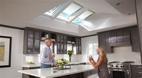 Skylights Windows Inspiration Velux Kitchen Inspiration Gallery Of Images