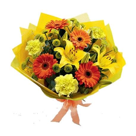 arancio fiori mazzi di fiori arancioni spedizione e consegna a