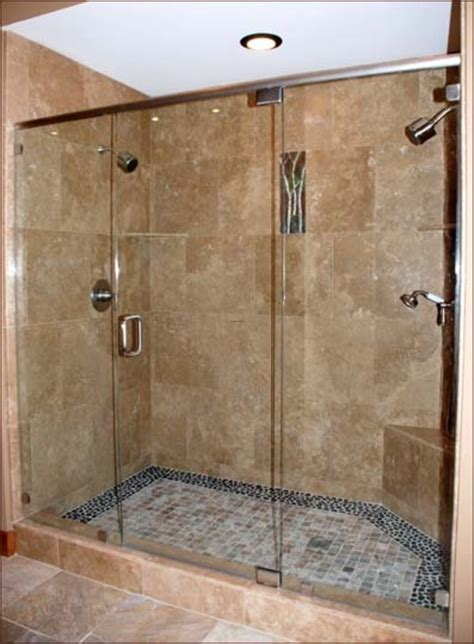 Bathroom Tile Shower Design Master Bathroom Plans With Walk In Shower Myideasbedroom