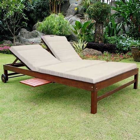 wood chaise lounge outdoor woodworking plans for file cabinet outdoor double chaise